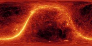 Lhoumeau Sky-System (Digital Planetarium with Fisheye)